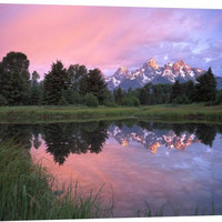 Grand Teton Range at Schwabacher Landing