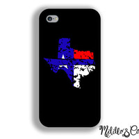 Thin Blue Line Texas Phone Case for Apple iPhone 5, 5c, 6, 6 plus, Samsung Galaxy s5, s6, Note 3 and 4