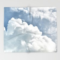 Cumulus Sky Throw Blanket by RichCaspian