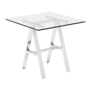 Lado Side Table Stainless Steel