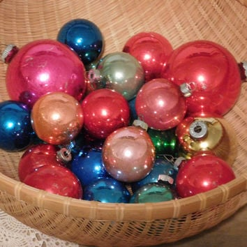 Shiny Brite Christmas Ornament Collection