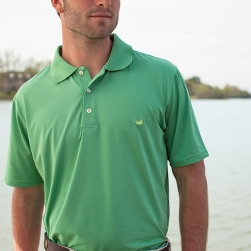 The Bermuda Performance Polo - Solid - Collegiate - Baylor University