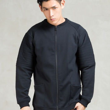 BIBI CHEMNITZ Black Lamel Fleece Jacket | HBX.