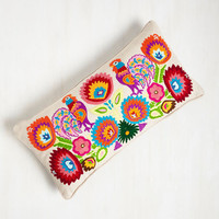 And the Roost Was History Pillow by Karma Living from ModCloth
