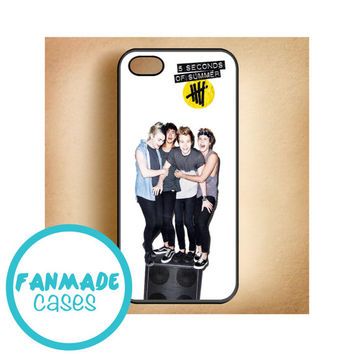 5sos stereo (5 seconds of summer) iPhone 4/4s 5/5s/5c & iPod 4/5 Rubber Case