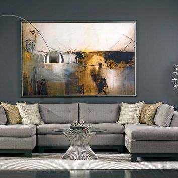 Chandler Sectional, Durango Slate - Sofas - Furniture