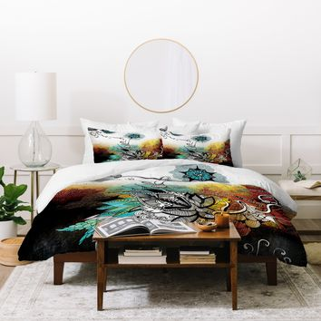 Iveta Abolina Frozen Dreams Duvet Cover
