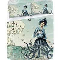 DENY Designs Home Accessories | Belle13 Sea Fairy Sheet Set