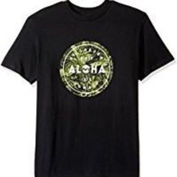 Billabong Mens - Aloha Seal Hi Tee | Black