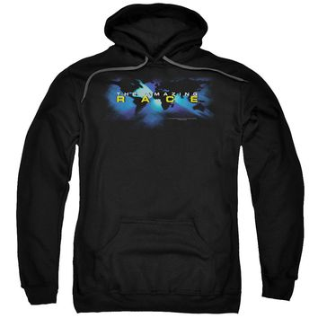 Amazing Race - Faded Globe Adult Pull Over Hoodie