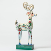 Enesco Jim Shore Blitzens Beauty Winter Wonderland Reindeer NIB  Item # 4047661
