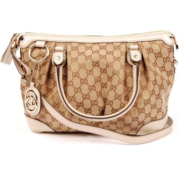 Gucci Sukey Cross Body Bag 5598 (Authentic Pre-owned)