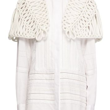 Burberry Hand Looped Rope Cape | Nordstrom