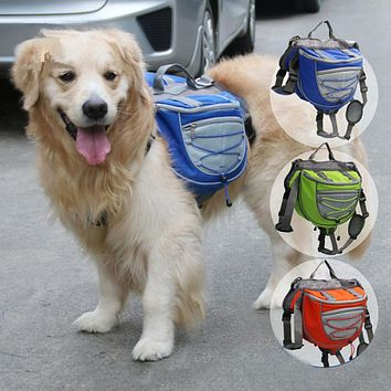 Multifunction Breathable Puppy Cat Dog Self-carrier Travel Pet Backpack Bag