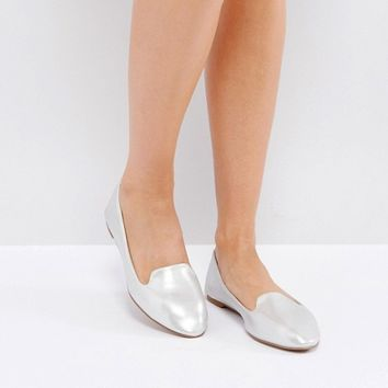 London Rebel Grosgrain Slippers at asos.com