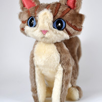original LELUKO/ soft toy cat/ hand made toy