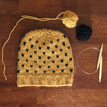 Hufflepuff Love Hat
