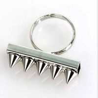 Spiked Row Ring