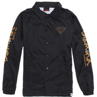 Diamond Supply Co Low Life Coach's Jacket - Mens Jacket