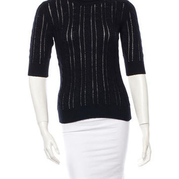 Michael Kors Cashmere Cable Knit Sweater