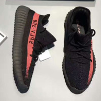 Adidas Yeezy 550 Boost 350 V2 Black(orange-red)