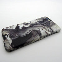 Unique Non-slip Marble Stone iPhone X 8 7 7 Plus & iPhone 6s 6 Plus Case + Nice Gift Box