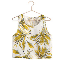 Tera Floral Crop Top