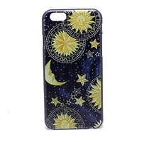 UV Hard Shell Plastic Case Cover for Iphone 6 Plus (5.5 Inch) - Galaxy Space