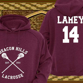 Isaac Lahey 14 Teen Wolf Custom Crewneck Hoodie Sweatshirt for Unisex adult made by USA