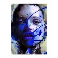 PoSt bLUe         MIXEDMEDIA 24/100 by vincenzorizzo on Etsy