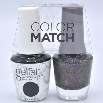 Gelish Gel Polish & Morgan Taylor Nail Polish Duo 1110235 Girl Meets Joy