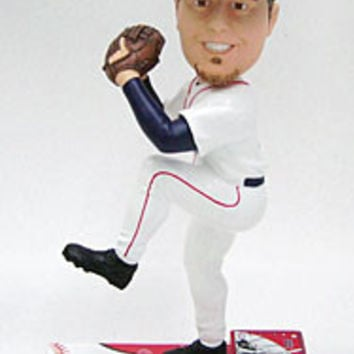 Boston Red Sox Josh Beckett Forever Collectibles On Field Bobblehead
