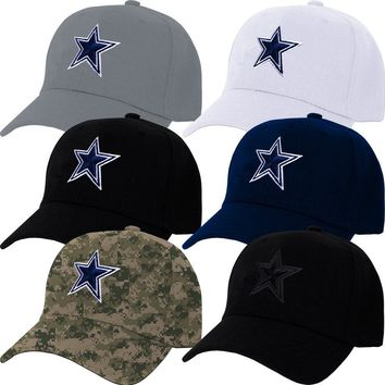 Dallas Cowboys Cap DAL Hat Embroidered Game Men Home Adjustable Curved baseball cap  snapback hat men women