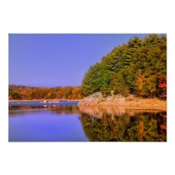 Autumn In Connecticut Poster
