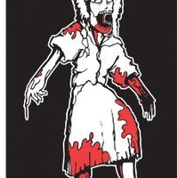 Zombie Removable Family Decals Daughter