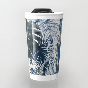 Tropical Plants Travel Mug by Salome