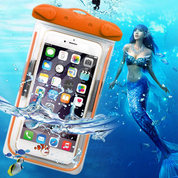 For Lg G2 G3 G4 stylus G5 mini /Meizu M3 Note Mini M3s Case Cover Waterproof Mobile Phone Pouch Underwater Swimming Diving Bag
