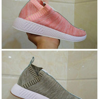 2017 Originals Naked x Kith x BY2596 Consortium NMD CS2 Primeknit Best Womens Mens Running Shoes Sneakers Nmds Runner City Sock Sports Shoes