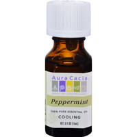 Aura Cacia Pure Essential Oil Peppermint - 0.5 fl oz