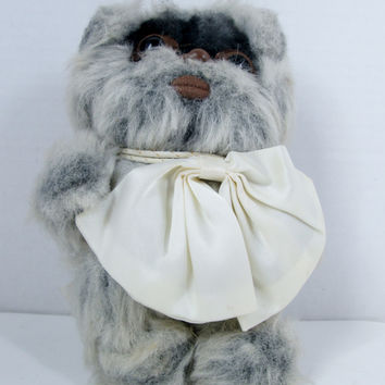 Vintage Star Wars Wiley Ewok Plush Doll by Kenner 1983
