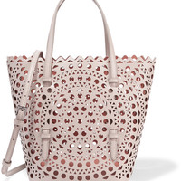 Alaïa - Laser-cut leather tote