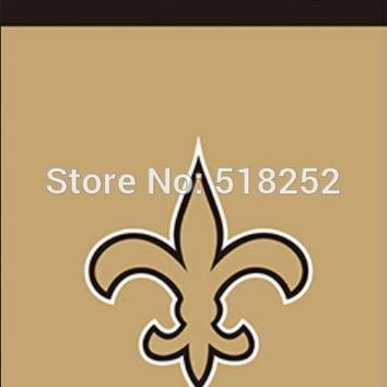 New Orleans Saints Wordmark Vertical Flag 3x5 FT 150X90CM Banner 100D Polyester Custom flag grommets 6038,free shipping