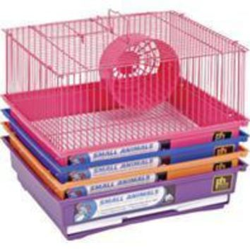 Prevue Pet Products Inc - 1 Story Gerbil & Hamster Cage