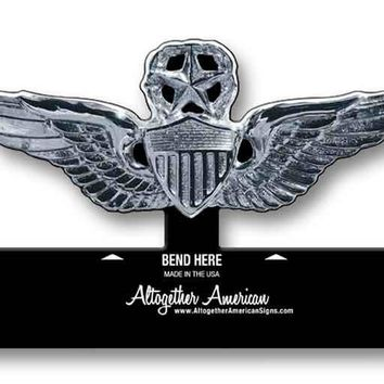 Master Aviator Wings Army Table Top Sign