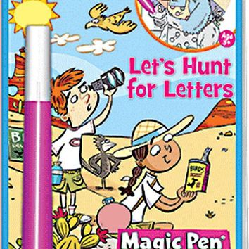 Highlights Let's Hunt for Letters Magic Pen Activity Book