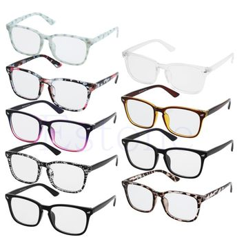Fashion Men Women Retro Eyeglass Frame Full Rim Glasses Spectacles Hot-448E