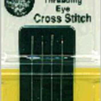 Size 26 4/Pkg John James Easy Threading Calyxeye Hand Needles