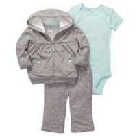 3-Piece Cardigan Pant Set