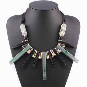 Sexy Choker Long Rope Vintage Geometric Necklace & Pendants Statement Women Gift