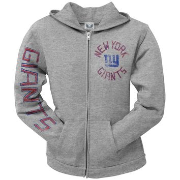 New York Giants - Sunday Juniors Zip Hoodie